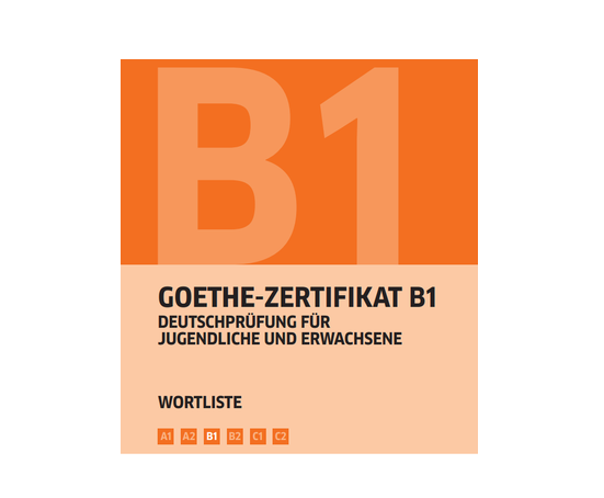 Goethe Zertifikat B1 Wortliste Deutsch خرید کتاب زبان